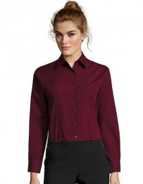 Popeline-Blouse Executive Longsleeve